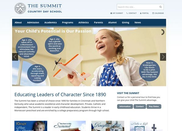 10 Best Private School Website Design Examples