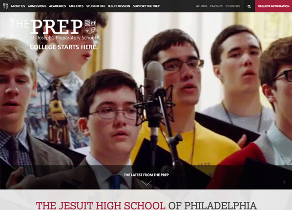 the-prep-private-school-website-design-examples