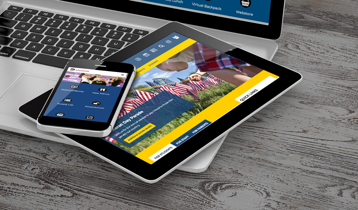 Fallhaven School Website Design Theme
