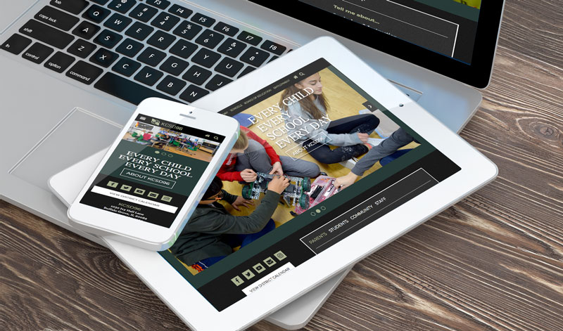 Kildeer School Website Design