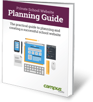 Private School Website Design Planning Guide