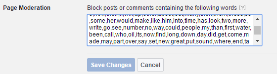 Monitor Facebook comments for schools