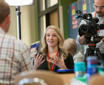 Read Video Tips to Tell your School Stories