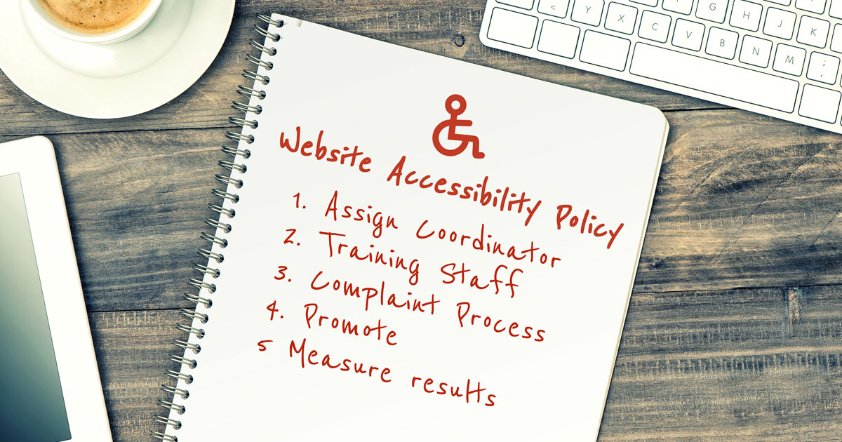 Read 5 Easy Steps to Creating a School Website Accessibility Policy